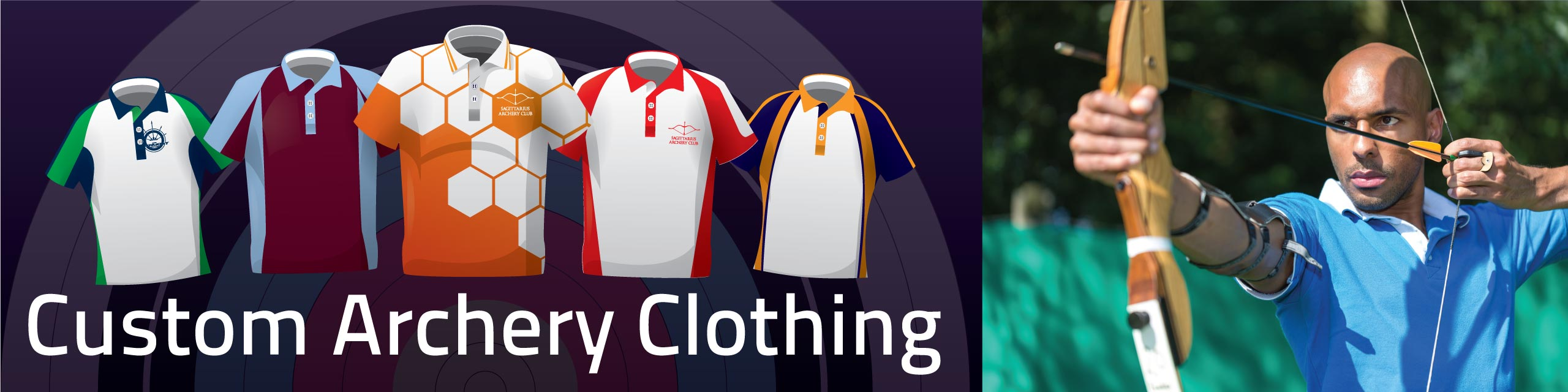 Design you own archery clothing at Team Colours