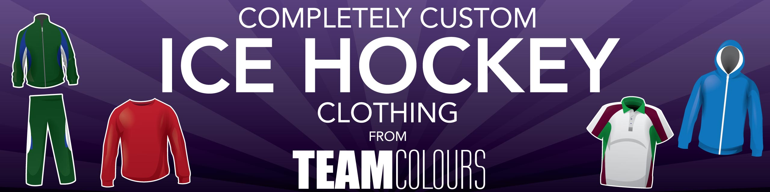 Design you own ice hockey kits at Team Colours