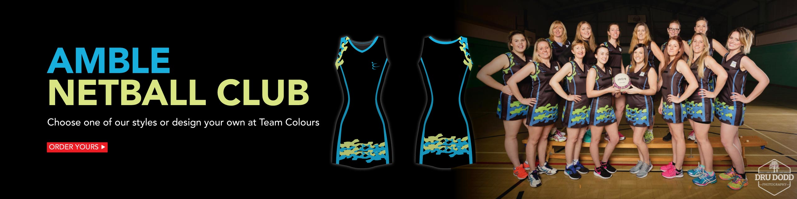 Sublimated Netball Dresses