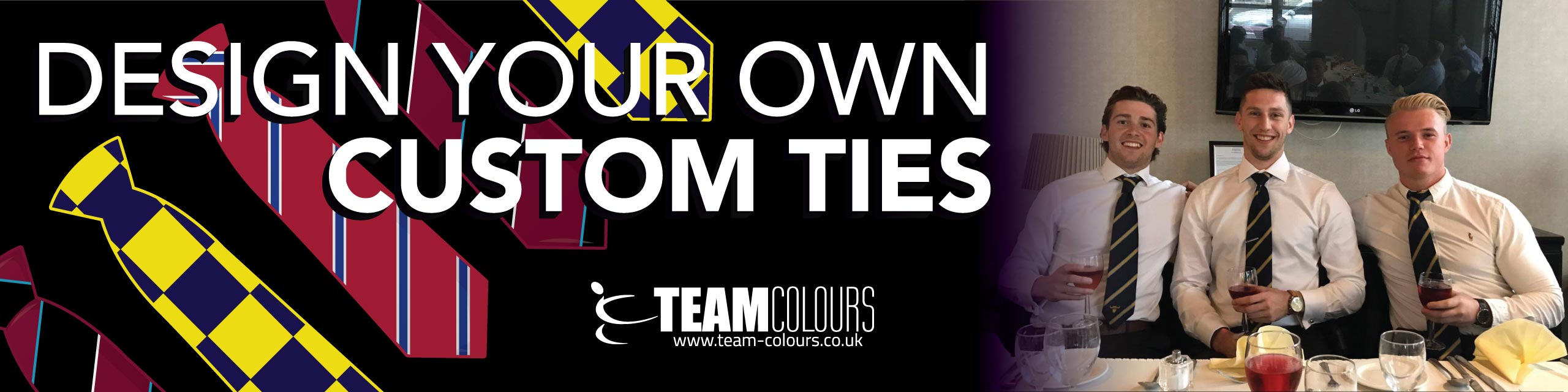 Custom Ties at Team Colours
