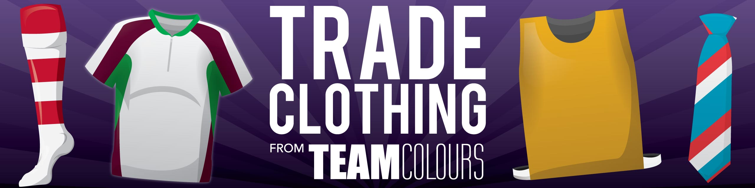 Trade and Promotional Clothing from Team Colours
