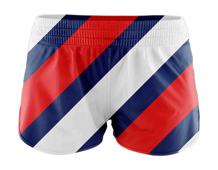 Chevron Ladies Sublimated Running Shorts