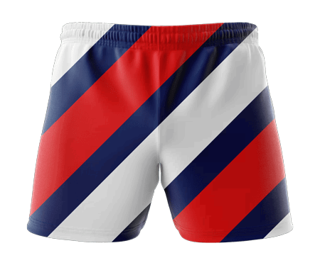 Chevron Sublimated Athletics Shorts