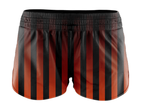 Fadeout Sublimated Running Shorts