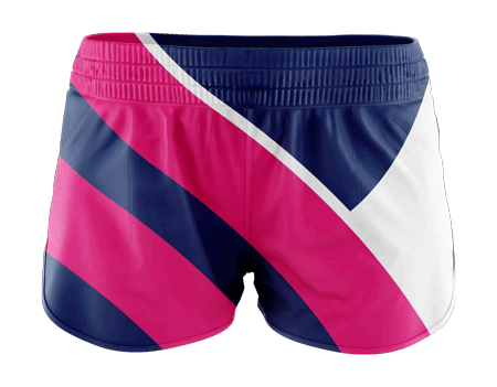 Flex Ladies Sublimated Running Shorts