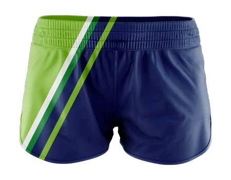 Incline Sublimated Running Shorts