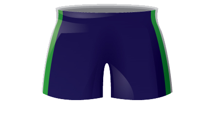 Retro Womens Athletics Shorts