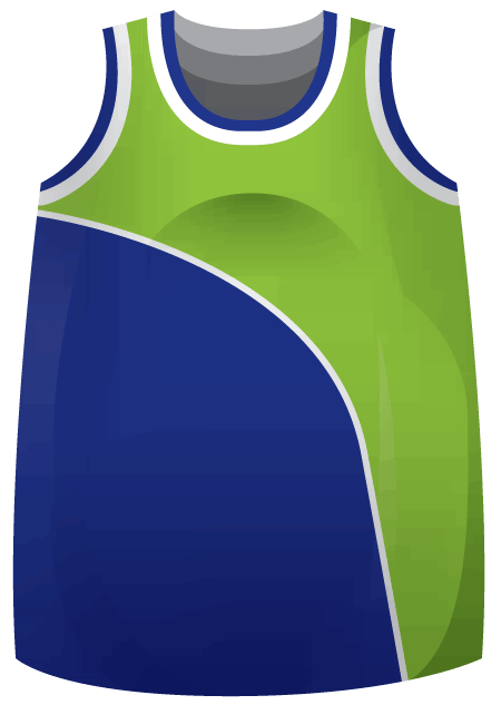 Baseline Ladies Basketball Jersey