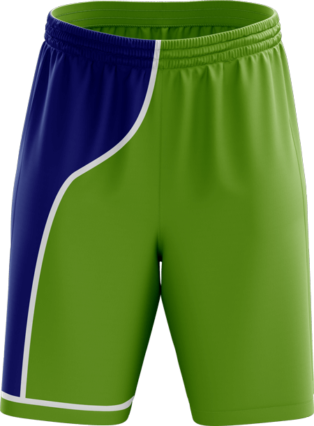 Baseline Reversible Ladies Basketball Shorts