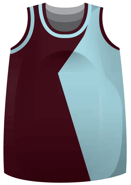 Downtown Ladies Basketball Jersey
