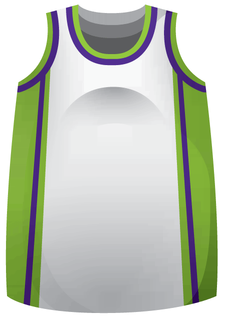 Dribble Ladies Basketball Jersey