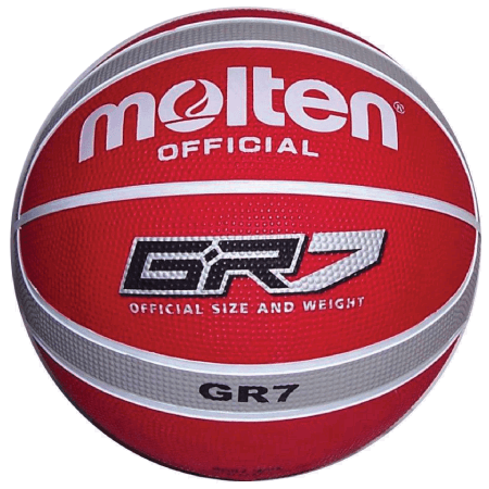 Molten Red 7 Basketball
