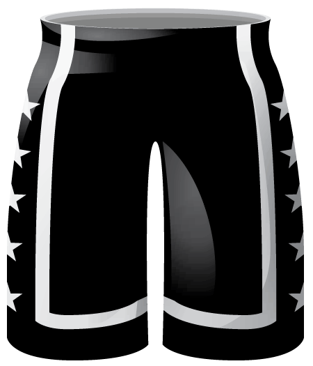Zone Ladies Basketball Shorts