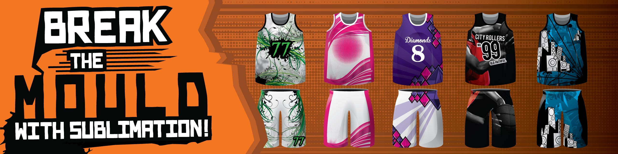 Design you own sublimated basketball kits at Team Colours