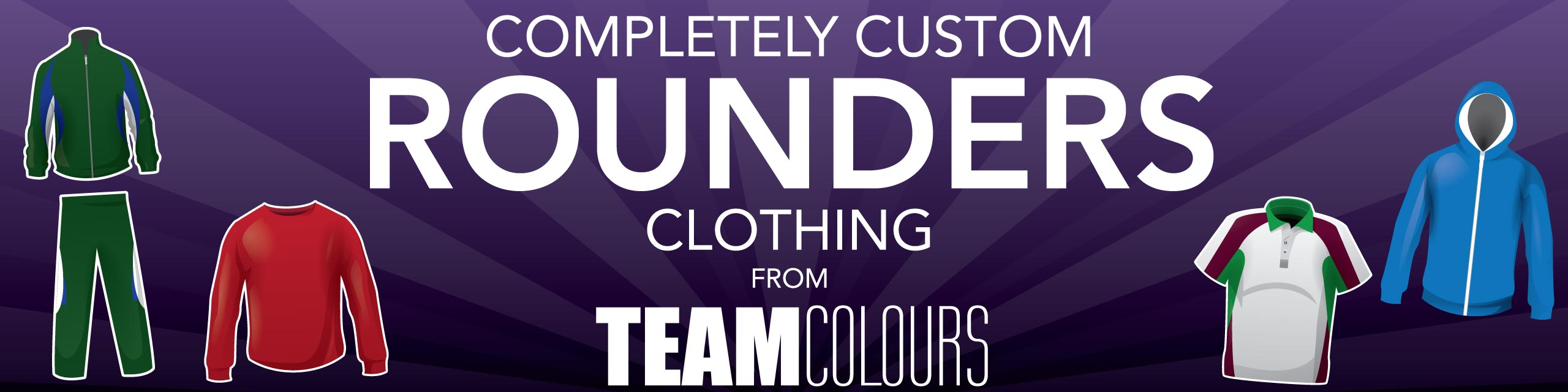 Design you own rounders kits at Team Colours