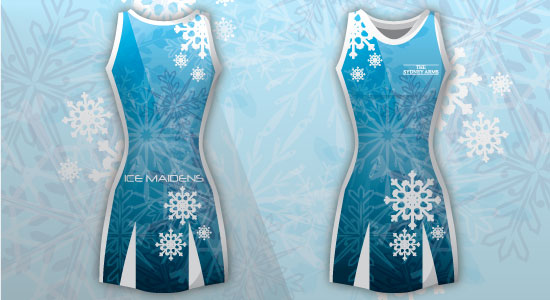 Ice Maidens Sublimated Netball Dresses