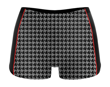 Burlesque Sublimated Cheerleading Hotpants