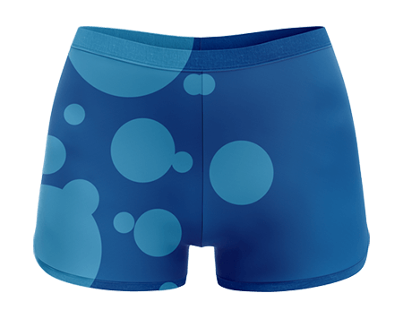 Depth Sublimated Cheerleading Hotpants