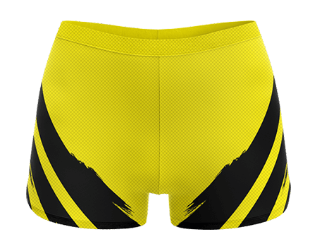 Heart Breaker Sublimated Cheerleading Hotpants