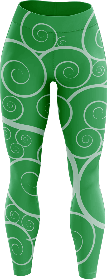 Heraldry Ladies Sublimated Cheerleading Leggings