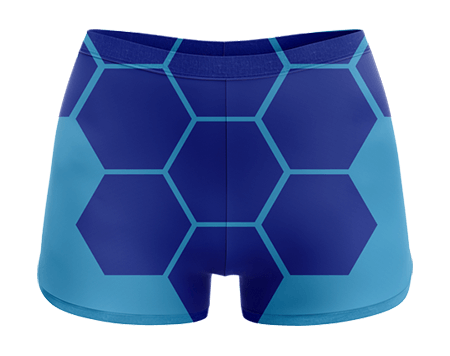 Hexed Sublimated Cheerleading Hotpants