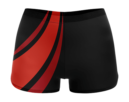 Inferno Sublimated Cheerleading Hotpants