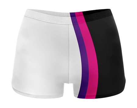Neon Sublimated Cheerleading Hotpants