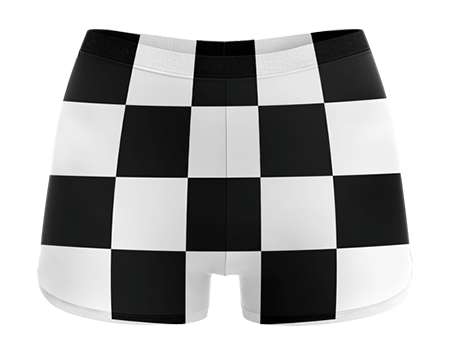 Retro Sublimated Cheerleading Hotpants
