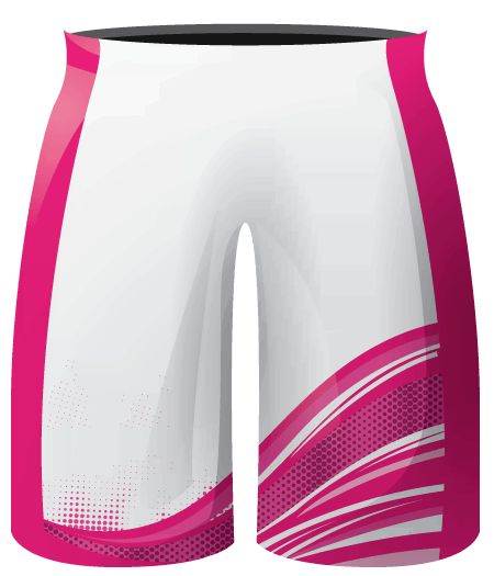 Stripes Design Sublimated Cheerleading Shorts