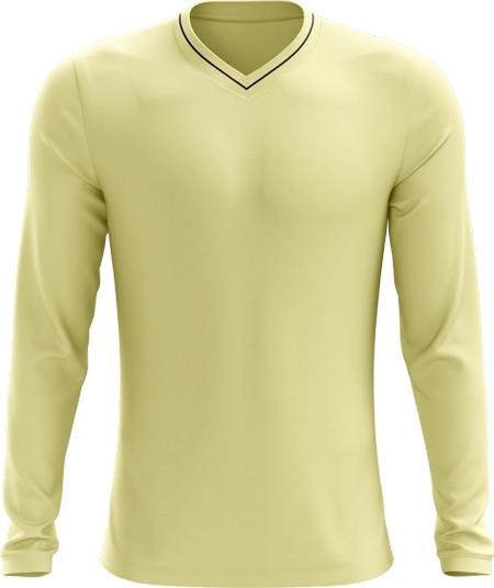 Single Piped Full Sleeve Cricket Sweater