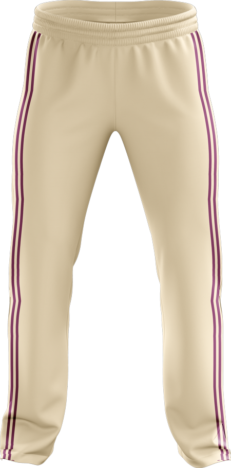 TC152 Double Piping Cricket Trousers