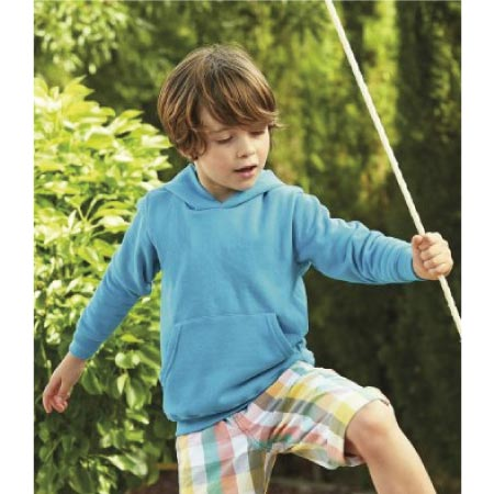 Fruit of the Loom Kids Classic Hooded Sweatshirt SS14B