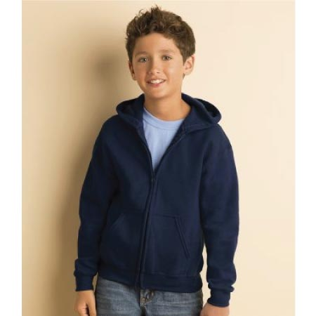 Gildan Kids Heavy Blend Zip Hooded Sweatshirt GD58B