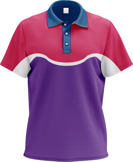 Flex Ladies Sublimated Polo Shirt