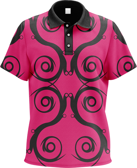 Flourish Sublimated Polo Shirt