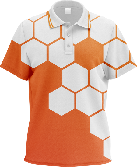 Hex Sublimated Polo Shirt
