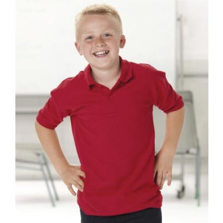Jerzees Schoolgear Kids Polycotton Pique Polo Shirt