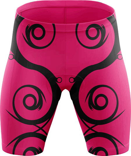 Flourish Sublimated Padded Cycling Shorts