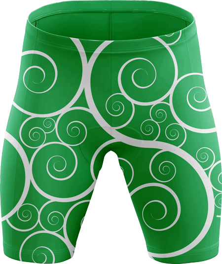 Heraldry Sublimated Padded Cycling Shorts