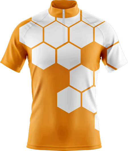 Hex Sublimated Cycling Jersey