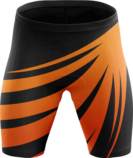 Meteor Sublimated Padded Cycling Shorts