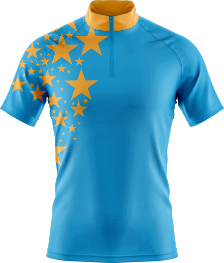 Stars Ladies Sublimated Cycling Jersey