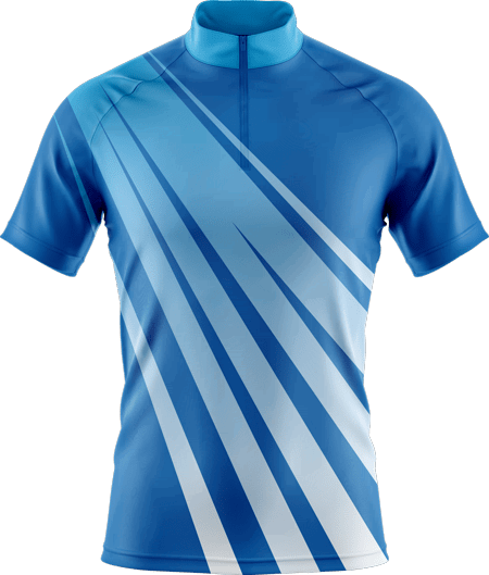 Velocity Sublimated Cycling Jersey