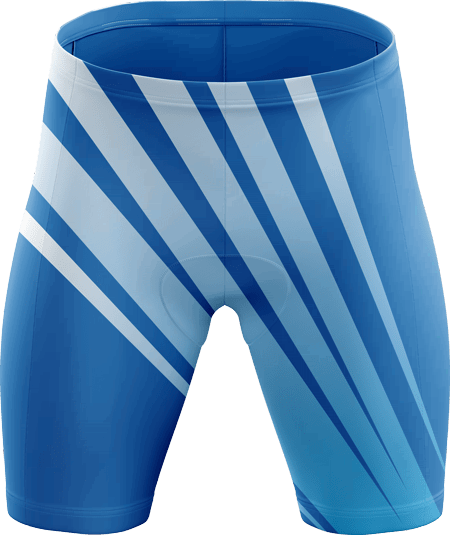 Velocity Sublimated Padded Cycling Shorts