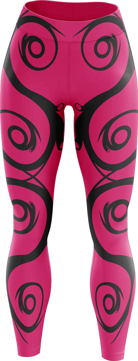 Flourish Sublimated Dance Leggings