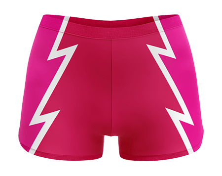 Luchadora Sublimated Dance Hotpants