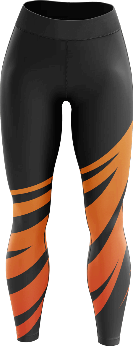 Meteor Sublimated Dance Leggings