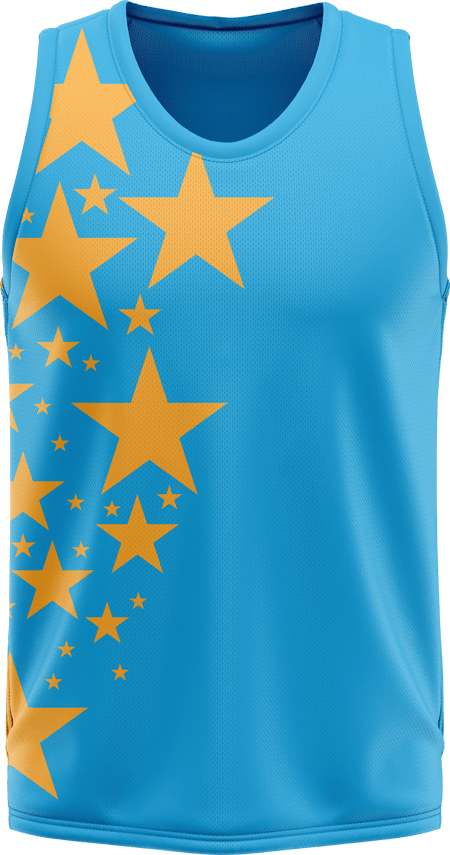 Stars Sublimated Dance Vest
