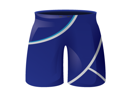 Curl Sublimated Football Shorts