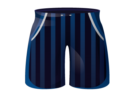 Defender Sublimated Football Shorts